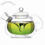 Double Wall Glass Teapot