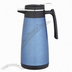 Double-Wall Stainless Steel Coffee Pot, Fashionable Design