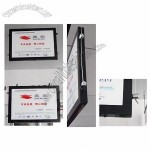 Double-side magnetic slim light box