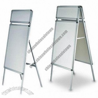 Double-sided Aluminum Poster Stand with A Board