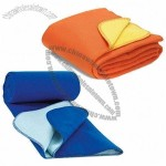 Double-sided Polar Fleece Blanket with Anti-peeling Quality