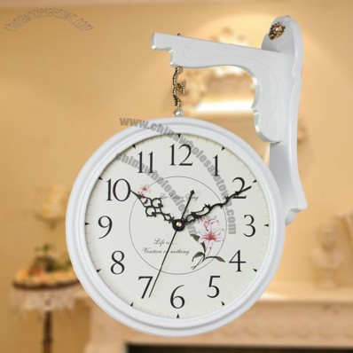 Double-sided Wall Clocks