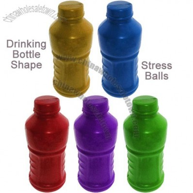 Drinking Bottle Shaped Stress Balls