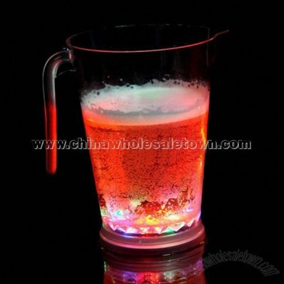Drinking Cup With Beer Light