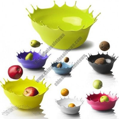 Dropp! Splashing Silicone Bowl, Fruit Tray