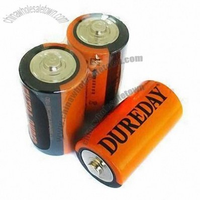 Dry-cell Batteries with PVC Jacket and 1.5V Nominal Voltage