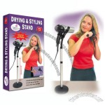 Drying Styling Stand, Hands Free Adjustable Hair Dryer Floor Holder Stand