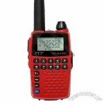Dual Band Two Way Walkie Talkie, 136 to 174/400 to 480MHz