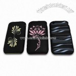 Dual Color Treated Silicone Case for iPhone 3G