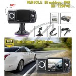 Dual Lens Two Screen Vehicle Black Box Car DVR Camera HD 720Px2