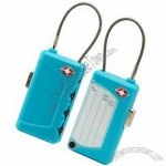 Dual Luggage Tag with Lock