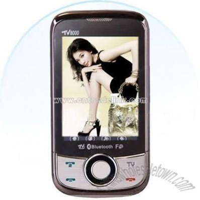Dual SIM Bluetooth Mobile Phone with TV