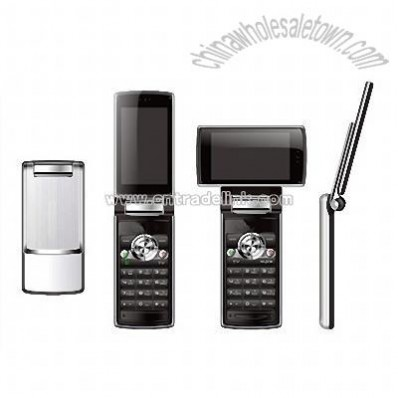 Dual SIM Card Flip TV Mobile Phone