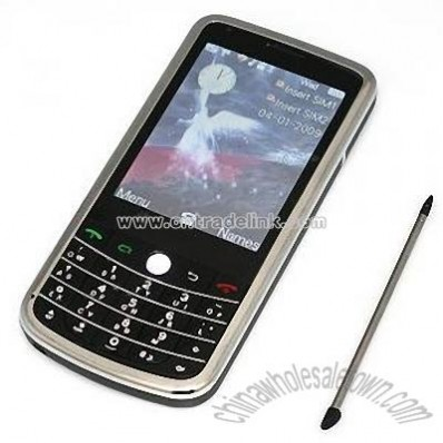 Dual Sim Card Dual Camera Phone WIFI Java TV