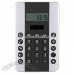 Dual power 8-digit full function pocket calculator