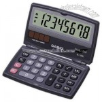 Dual powered pocket fold calculator
