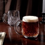 Dublin Cut Crystal Beer Mugs