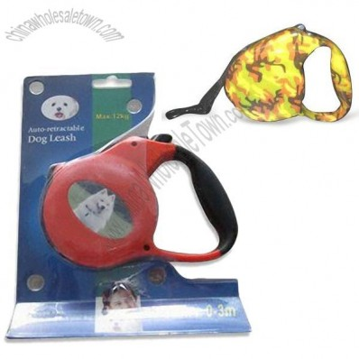 Durable  Retractable Automatic Dog Leash with LED Light