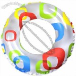 Durable Inflatable Swimming Rings For Babies Clear Non Toxic