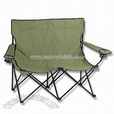 Durable Outdoor Folding Lovely Chair with Capacity of Two Persons