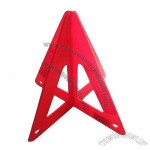 Durable Reflective Warning Triangle with Impact-resistant and Long