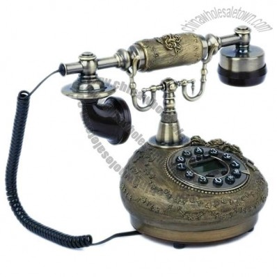 Durable Retro European Style Home Office Desktop Corded Telephone
