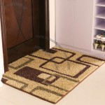 Dust Doormat in Geometric Design