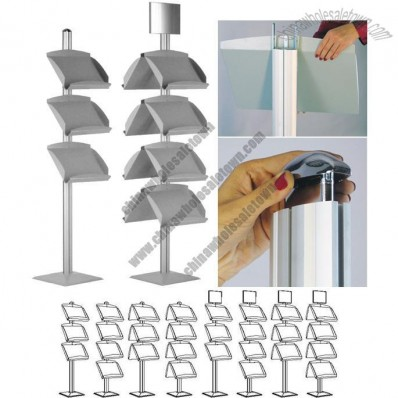Dynamic Brochure Stand with Front Brochure Holder