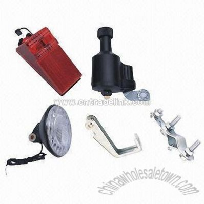Dynamo Bicycle Light Set with 3W Front Light