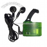 Dynamo Emergency Charger for Mobile Phone with FM Radio