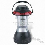 Dynamo LED Rechargeable Camping Lantern with Blinking Light and AC/DC Adapter