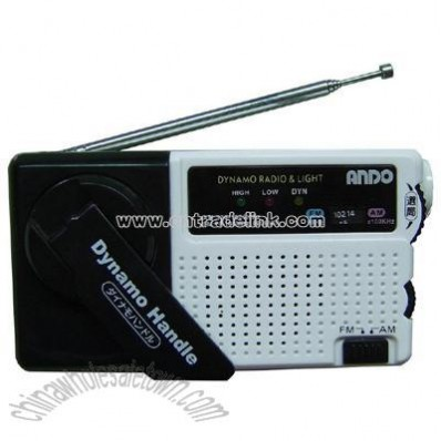 Dynamo Radio with LED Torch
