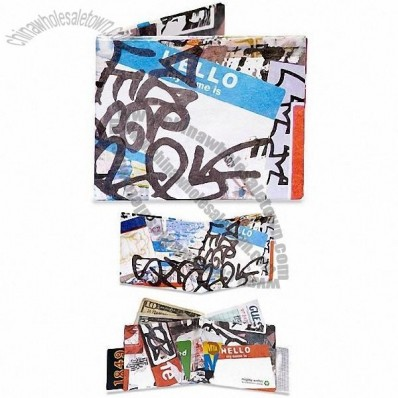 Dynomighty Men's Graffiti Mighty Wallet
