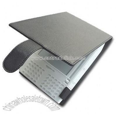 E-Book Reader Leather Case for Amazon Kindle