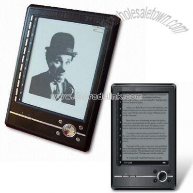 E-book Reader with 6-inch E-ink