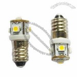 E10/E12 SMD LED Signal Car Light Bulb