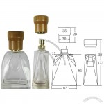ECO Bamboo Lid Perfume Bottle