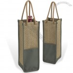 ECO Single Bottle Wine Tote Bag
