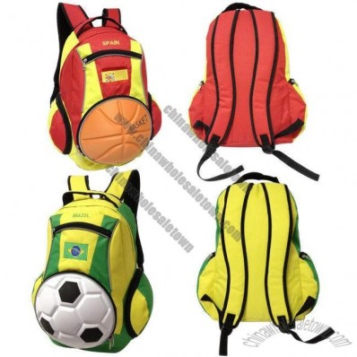 EVA Football Outdoor Backpack for 2014 Brazil World Cup
