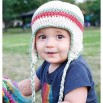 Earflap Hat - Size 12 to 24 Month