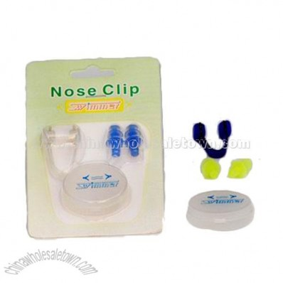 Earplug & Nose Clip