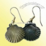 Earrings in Special Seashell Design