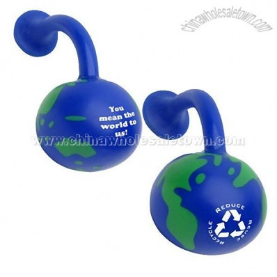 Earth Gel Magnet Stress Balls