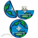Earth/Globe USB Flash Drives