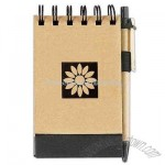 Earth-friendly recycled jotter