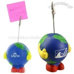 Earthball Man Stress Ball Memo Holder