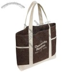 Earthlight Jute Tote Bag