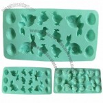 Easter theme Food-grade Silicone Ice Cube Tray