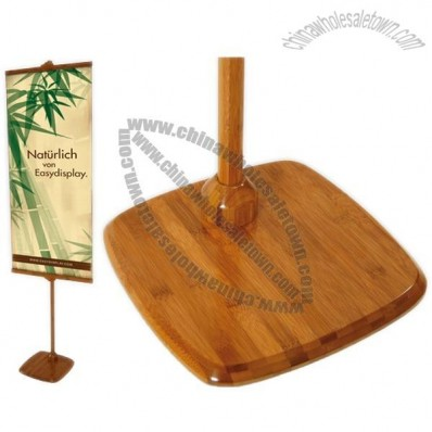 Easy Flex Bamboo Banner Stand