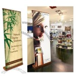Easy RollBamboo Banner Stand